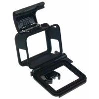 Plastic Protective Side Frame Case Bumper For GoPro Her Berkualitas