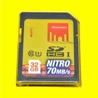 Strontium Nitro 466X SDHC UHS-1 70MB / S Class 10 32GB - Berkualitas