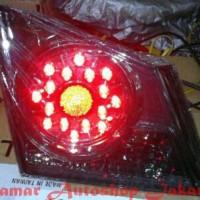 Stoplamp Honda Civic 06-11 LED All Smoke Lens Eagle Eye Diskon
