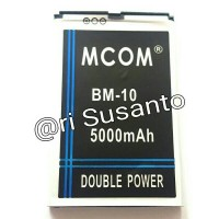 Baterai M-COM BM10 For Xiaomi Mi1/Mi1s Double Power 5000mAh