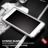 Samsung Galaxy Grand Prime VE Hybrid Aluminium Bumper Case cover kuat