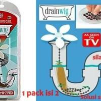 DRAIN WIG AS SEEN ON TV/ALAT ANTI SUMBAT SALURAN AIR/BARANG UNIK