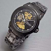 Jam Tangan Pria Rolex Automatic (GC, Ripcurl, Quiksilver, Fossil, Diesel)