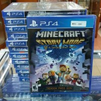 Ps4 Minecraft Story Mode New
