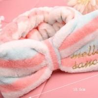 Handuk Kepala / Rambut Tipe Bando Untuk Cuci Muka / Mandi [BHR010] 7