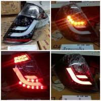 SK1700BCH Stoplamp Honda Jazz GE8 08-14 LED Dan LED Bar Black Chrome H
