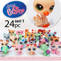 24pc Littlest PetShop Figure Seri 1-Chibi Animal-Little Pet Shop-LB023