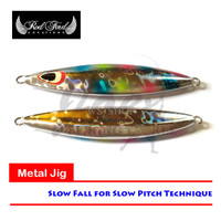DISCOUNT Volante Slow Fall Jig 180gr #RB - Metal Jig Hologram Pelangi