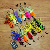 PROMO Umpan wooden JumpFrog Hand made lure PALING LARIS