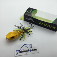 EXCLUSIVE Mimix HOPPER 55mm/13.5g Color Yellow Frog TERLARIS