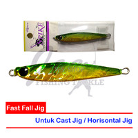 PROMO Viper Metal Jig Spike Fast Fall - VS 40G 02 Hologram Green TERMU