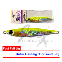 EXCLUSIVE Viper Metal Jig Spike Fast Fall - VS 40G 03 Hologram Yellow