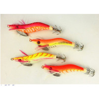 EXCLUSIVE Pack Of 2 Noctilucent Glow Beard Shrimp Prawn Lures Cuttlefi