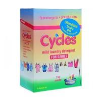 Cycles Mild Laundry Detergent Powder / Cyles Bubuk 1kg
