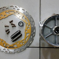 EXCLUSIVE Tromol Depan Ninja 150 2Tak Palang 6 + Cakram NEW STOCK