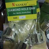EXCLUSIVE Mata Bor Pembolong Keramik & Kaca / Diamond Holesaw 50mm Nan