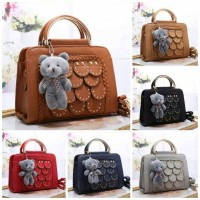 Fashion Round Stitch Teddy Bear 355-3