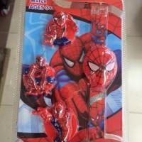 Jam Tangan Anak Pria / Cowok Murah Spiderman Kado Ulang Tah Jam Tangan