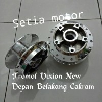 harga Tromol Vixion New / Tromol Vixion New Depan Belakang Cakram Crome Tokopedia.com