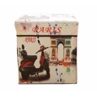 Storage box METRO PARIS/Tempat Mainan / Majalah /kursi organizer