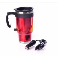 Car mug stainless elektrik mug pemanas dalam mobil / auto car heati