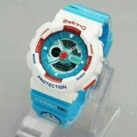 Jam Tangan G-SHOCK BABY G DORAEMON GA 110 BLUE - Jam Tangan Casio Baby