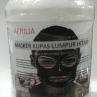 C# Aprilia Masker Kupas Lumpur Hitam (Black Mud Peel Off Mask) 500gr
