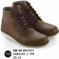 Boot Pria SM 34 Coklat