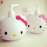 Dispenser Sabun Cair Berbentuk Kepala Hello Kitty