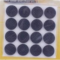 Pengganjal Karet Kaki Meja / Kursi Bulat (2cm) (1 Set Isi 16)