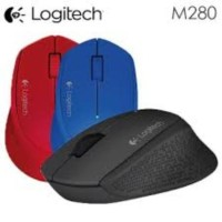 Mouse Logitech Wireless M280 Garansi Resmi / Original