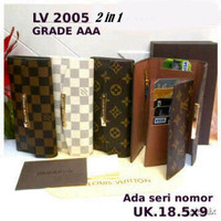 SPESIAL Dompet Louis Vuitton Lipat 3 (LV-2005)