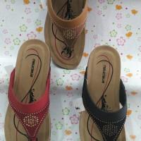 sandal wanita neucleus tinggi +3cm