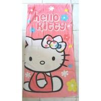 Handuk Anak Karakter Gambar Hello Kitty