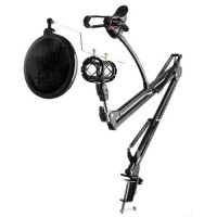 Jual Stand mic microphone condenser & holder hp for Recording Murah