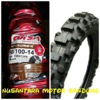 harga Ban Luar 90/100-14 Mt Moto Cross ( Corsa) Tokopedia.com