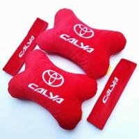 Bantal Mobil Toyota Calya Merah