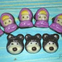 coklat praline masha n bear