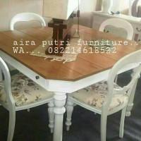 set meja makan kombinasi