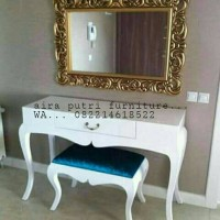 meja rias duco + mirror