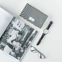 custom Zebra Clutch