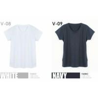 Basic Tshirt VNeck | Pakaian Santai Wanita | Kaos Santai