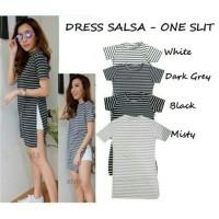 DRESS SALSA| ONE SLIT DRESS| DRESS WANITA