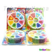 harga Mainan Anak Slime Korea 8 Warna / Pack Warna Warni Tidak Lengket Tokopedia.com