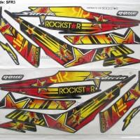Striping Lis Motor Suzuki Satria F 150 Rockstar Energy Stiker Fu 08-12