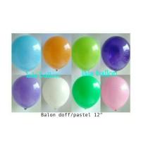 Balon warna doff / balon dekorasi / balon standart / balon ultah