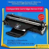 Compatible Cartridge Fuji Xerox 3124, Printer Xerox Phaser 3124 3125