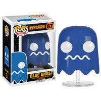 Funko POP Games Pac-Man - Blue Ghost #87