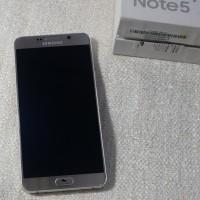 Samsung Galaxy Note 5 Dual Gold Sein Maknyus