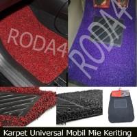 Karpet Mobil / Floor Mats Universal Mie Keriting Mobilio